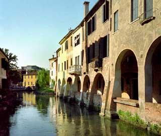 Treviso, Scorcio del fiume Sile