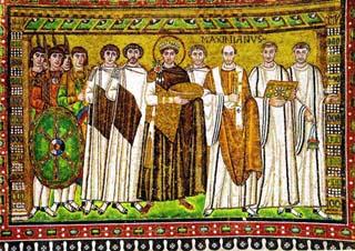 Ravenna, mosaici nel Duomo di San Vitale